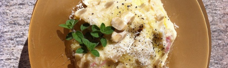 Fresh Fava Beans Soup with Maltagliati