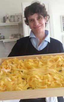 Francesca Settimi and her Tagliatelle