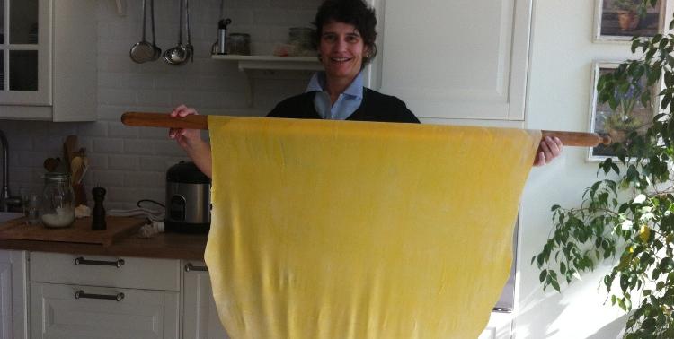 Francesca Settimi and her Fresh Pasta