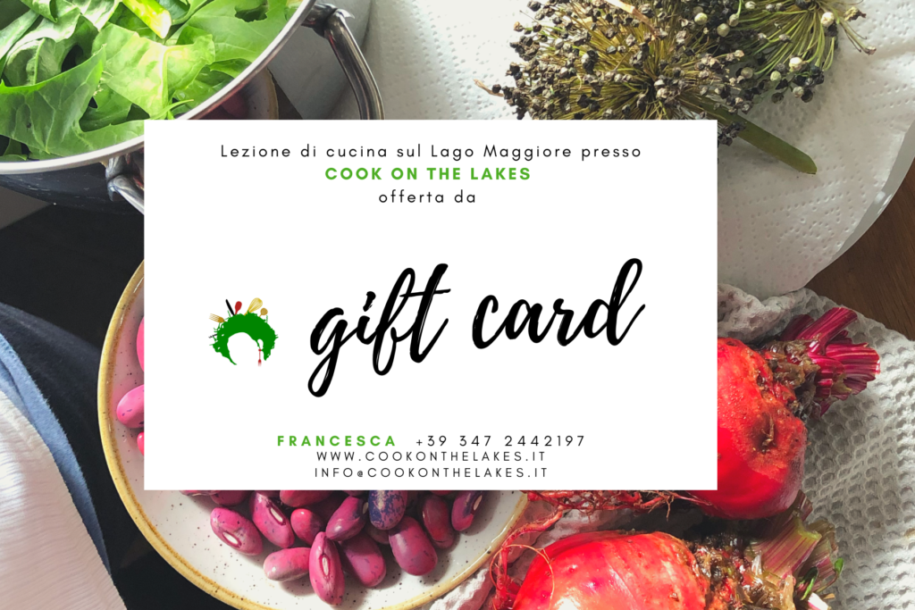 Cook on the Lakes Gift Certificate