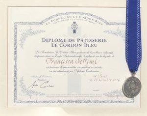 Paris Cordon Bleu Diploma