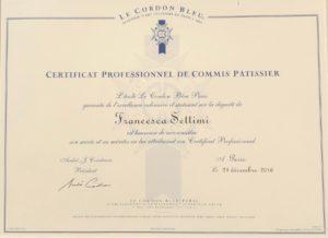 Paris Cordon Bleu Comis Diploma