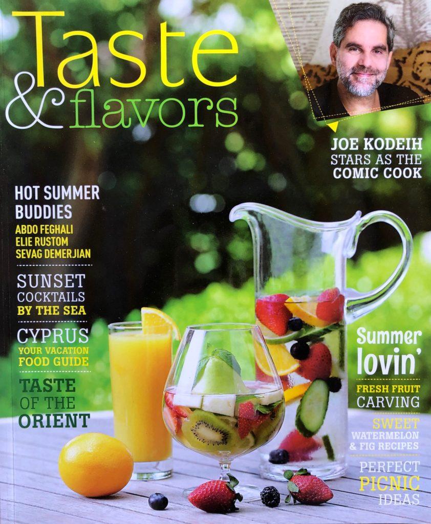 Chef Francesca Settimi on Taste & Flavors Magazine